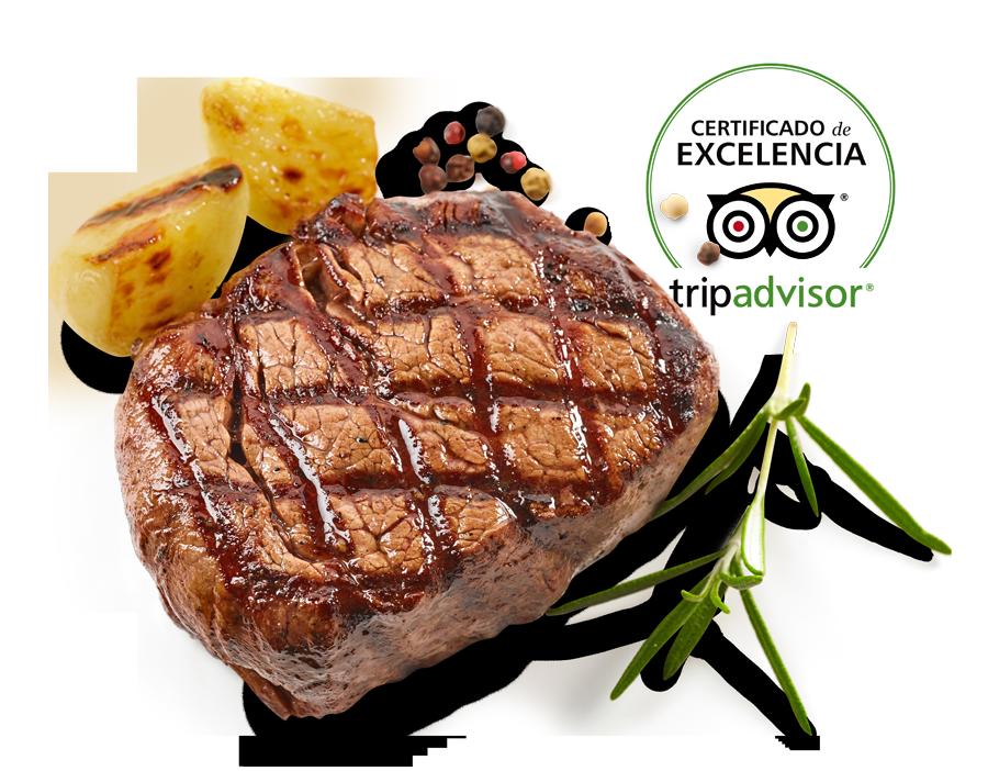 Certificado excelencia Tripadvisor - El Poncho
